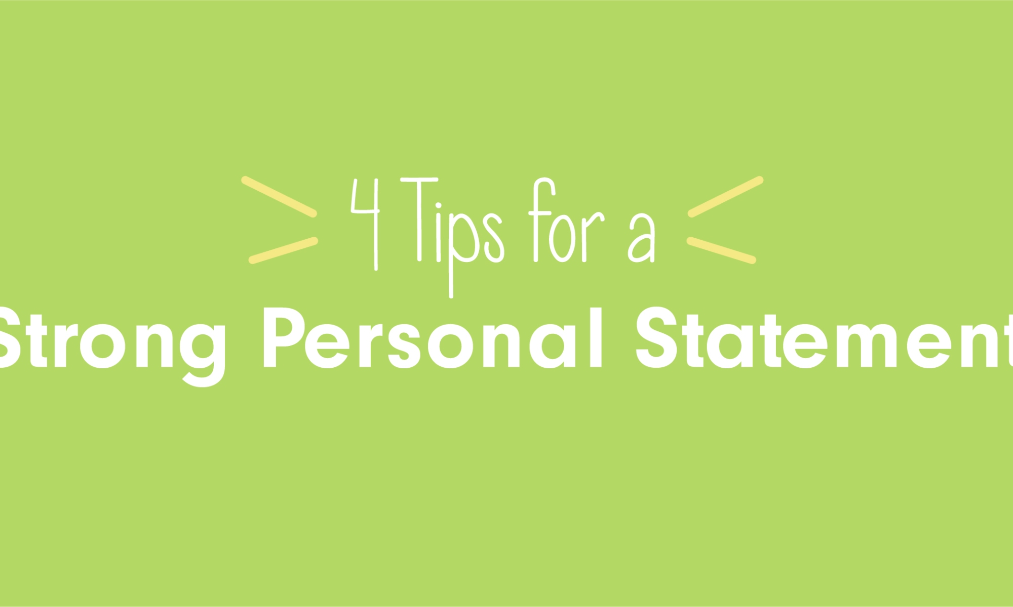 4-tips-personal-statement-medical-school