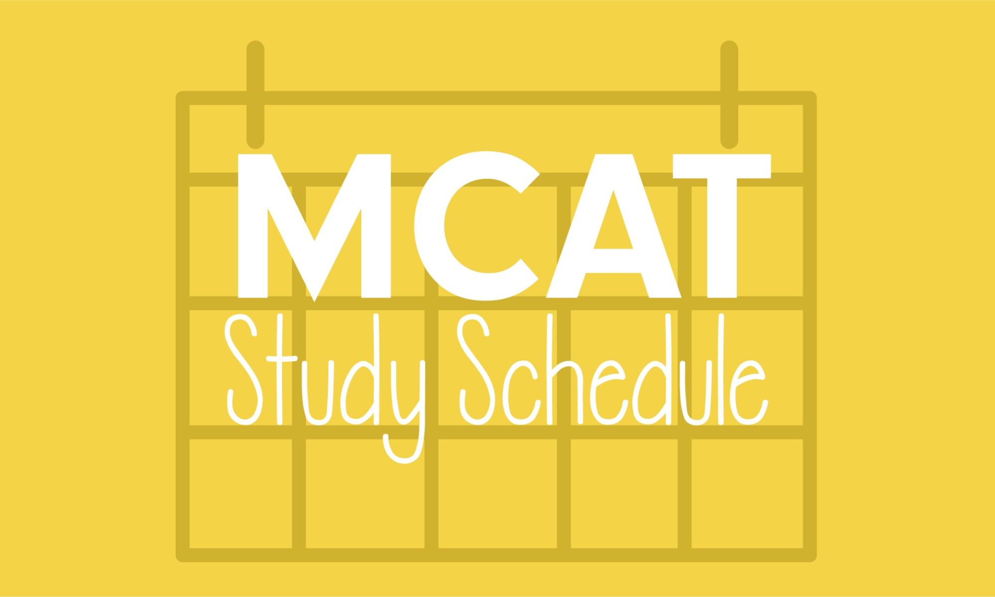 mcat-study-plan
